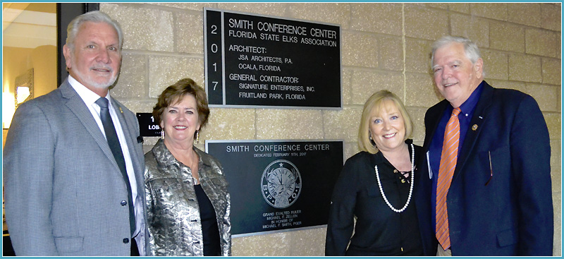 Smith Conference Center Dedication