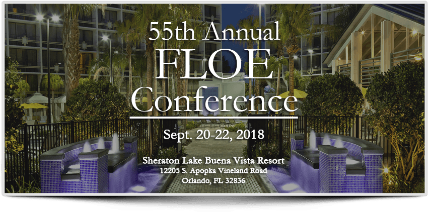 55th annual FLOE conference