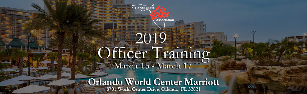 2019 officer training header