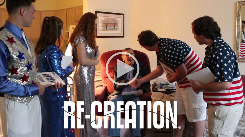 re creation video